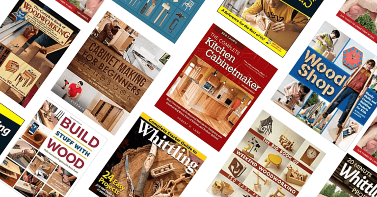 10 Best Woodworking Books for Beginners